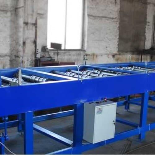 Автоматическая линия для производства профнастила марки С 10