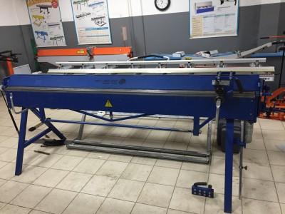 Листогиб ZAGINARKA ZGR 2750/1.2 мм (компенсаторы, нож, машинка, перед и задняя поддержка)